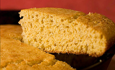 Recipe for Cast Iron Corn Bread from TableFare