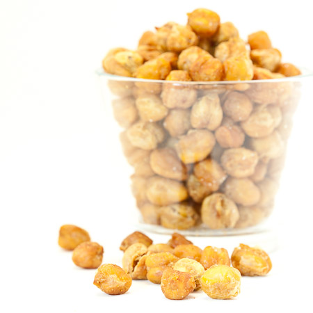 Recipe for Curried Garbanzo Bean Nuts from TableFare