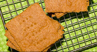 Recipe for Graham Crackers from TableFare