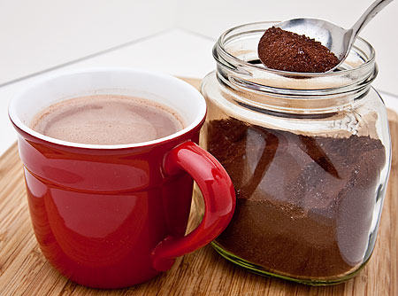 Recipe for Spicy Malted Hot Cocoa Mix from TableFare