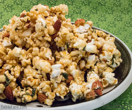 Recipe for Sage Caramel Corn from TableFare