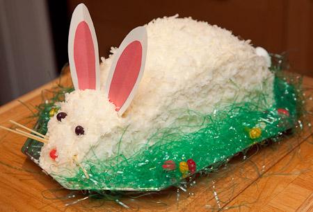 Baker S Coconut Cut Up Bunny Cake